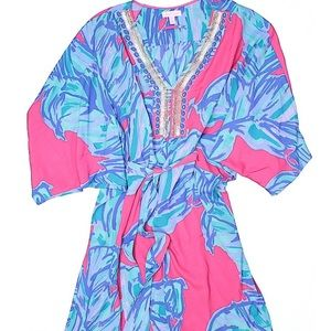 Lily Pulitzer swimsuit coverup.